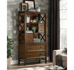 Frazier Park Bookcase by Homelegance