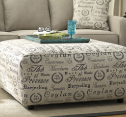 Alenya Oversized Accent Ottoman Signature Design by Ashley