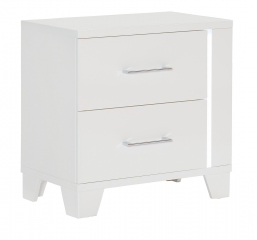 Kerren Nightstand w/ LED Lighting by Homelegance