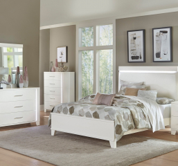 Kerren Bed w/ LED Lighting by Homelegance