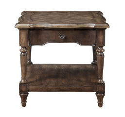 Heath Court End Table by Homelegance