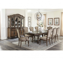 Heath Court Dining Table by Homelegance