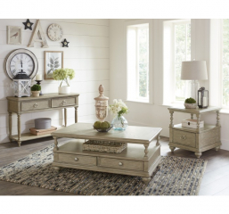 Grayling Downs End Table by Homelegance