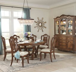 Moorewood Park Round Dining Table by Homelegance