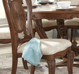 Moorewood Park Side Chair by Homelegance