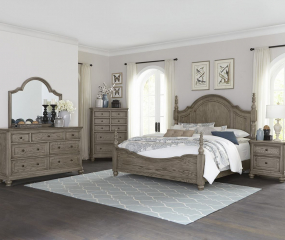 Lavonia Poster Bed by Homelegance
