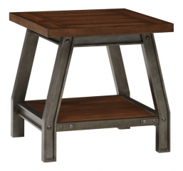 Holverson End Table by Homelegance