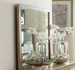 Kalette Mirror by Homelegance