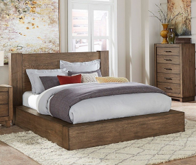 Korlan Platform Bed by Homelegance