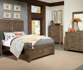 Lyer Bed by Homelegance