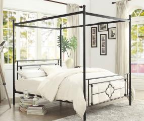 Hosta Canopy Platform Bed by Homelegance