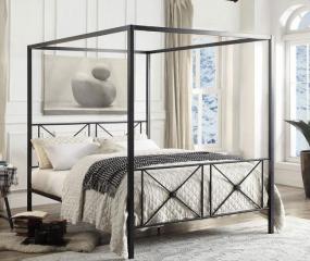 Rapa Canopy Platform Bed by Homelegance