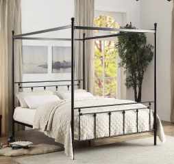 Chelone Canopy Platform Bed by Homelegance