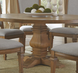 Florence Round Pedestal Dining Table by Coaster