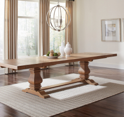 Florence Double Pedestal Dining Table by Coaster