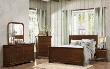 Abbeville Bed by Homelegance