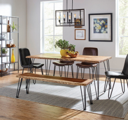 Sherman Rectangular Dining Table by Coaster