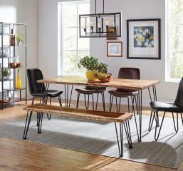 Sherman Rectangular Dining Table by Coaster