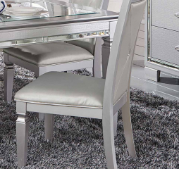 Allura Side Chair by Homelegance
