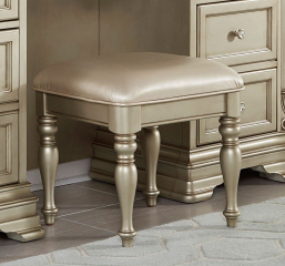 Antoinetta Vanity Stool by Homelegance