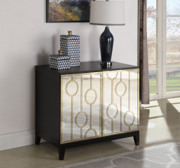 Lindsey Two Door Rectangular Server by Coaster
