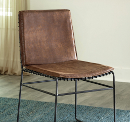 Sherman Upholstered Side Chair by Coaster
