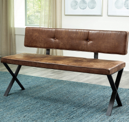 Sherman Upholstered Dining Bench by Coaster