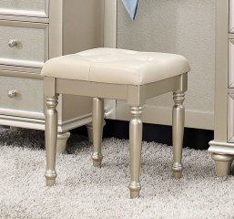 Celandine Vanity Stool by Homelegance
