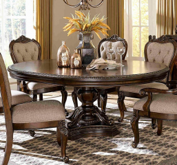 Bonaventure Park Round/Oval Dining Table by Homelegance