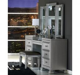 Bevelle Vanity Dresser w/ Mirror by Homelegance