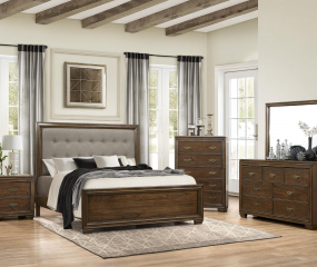 Leavitt Bed by Homelegance