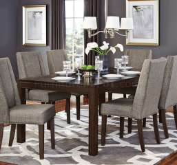 Kavanaugh 60″ Dining Table w/ 18″ Leaf by Homelegance