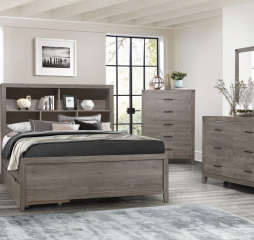 Woodrow Platform Bed by Homelegance