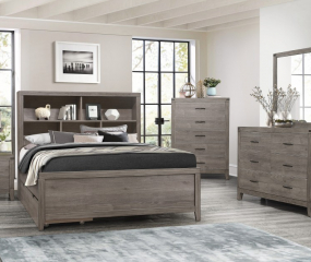Woodrow Platform Bed by Homelegance