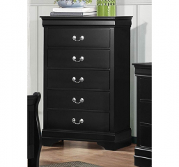 Mayville Chest by Homelegance – Black