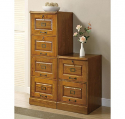 Palmetto Four Drawer File Cabinet by Coaster