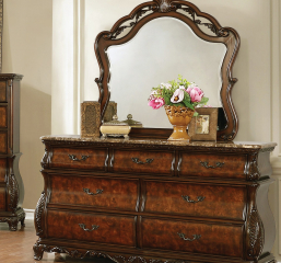Exeter Arched Dresser Mirror by Coaster
