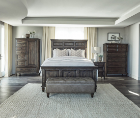 Avenue Panel Bed by Homelegance