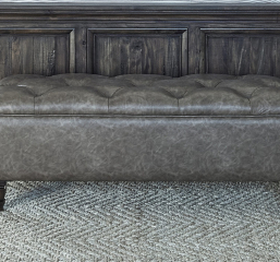 Avenue Upholstered Tufted Bench by Coaster