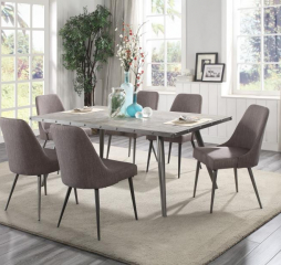 Palladium Dining Table by Homelegance