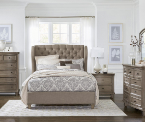 Vermillion Bed by Homelegance