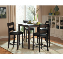 Griffin Five Piece Counter Height Set by Homelegance