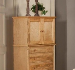 Hepburn Media Chest w/ Four Drawers by North American Wood
