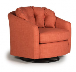 Sanya Swivel Barrel Chair by Best Home Furnishings