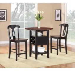 Atwood Three Piece Pack Counter Height Set by Homelegance