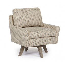 Seymour Swivel Barrel Chair by Best Home Furnishings