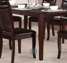 Maeve 54″ Dining Table w/ 18″ Leaf by Homelegance