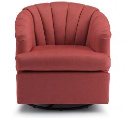 Elaine Swivel Barrel Chair by Best Home Furnishings