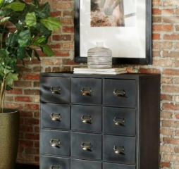 Black 12 Drawer Accent Cabinet by Coaster