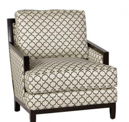Clarice Wood Accent Chair by Jonathan Louis